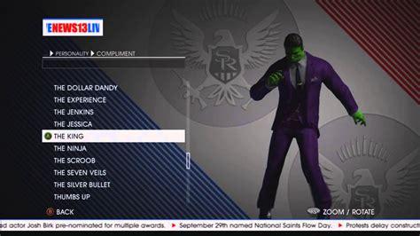 Saints Row 4 Character Customization