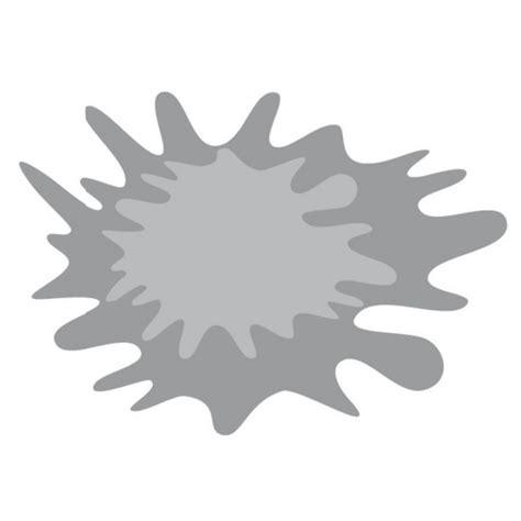 stickers tache eau ou encre grise vintage etiquette