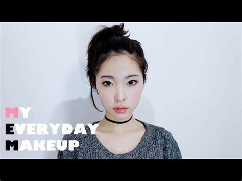 eng  everyday makeup tutorial korean daily makeup