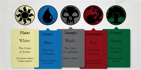 magic the gathering colors 24 best magic the gathering ideas images on