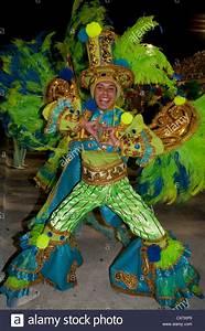 Man in Green Costume during Carnival Parade Rio de Janeiro ...