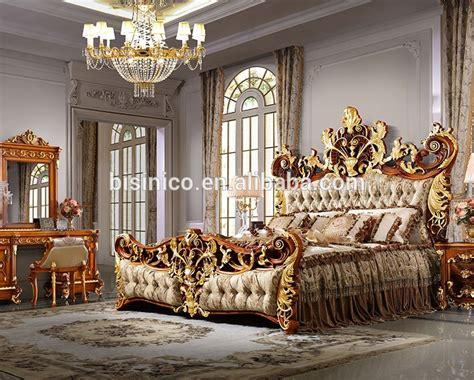 bisini luxury palace king size bedroyal golden king size
