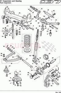 Aston Martin Db7  1997  Front Suspension Parts