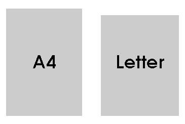 a4 vs letter a4 vs us letter between borders 20353