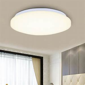 Modern w round led ceiling down light flush mounted wall