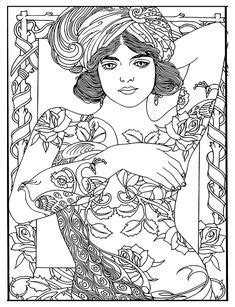 Body Art: Tattoo Designs Coloring Book | Tattoo coloring