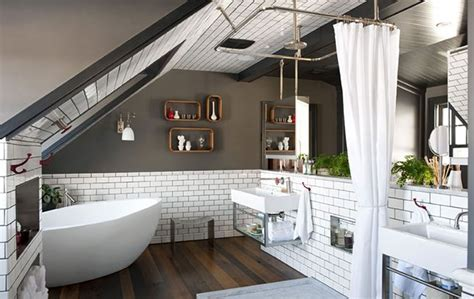 38 Practical Attic Bathroom Design Ideas