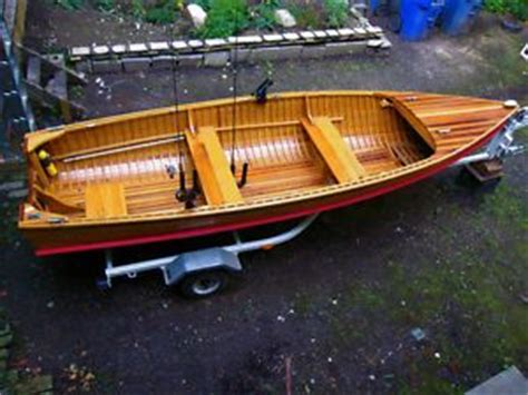 Fishing Boat For Sale Gta by Giesler Powasson Cedar Strip Wooden Boat City Of Toronto