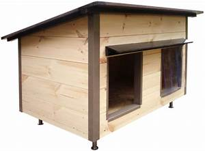 Niche Interieur Pour Chien : constructeur de tr s belles niches une niche pour chien isol e en bois ~ Melissatoandfro.com Idées de Décoration