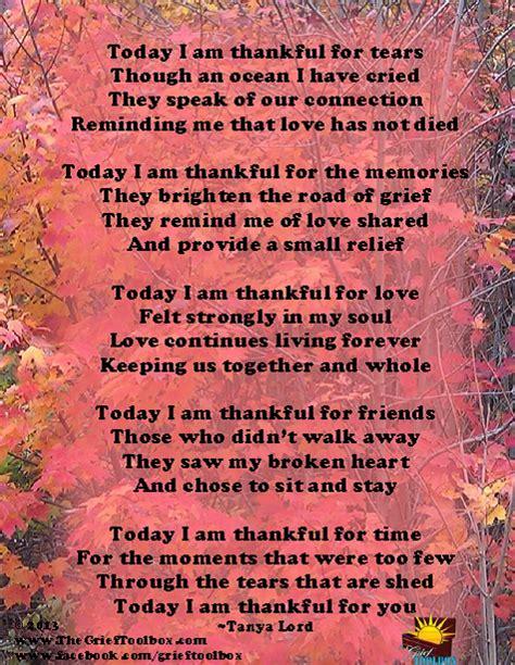 grieve      thankful