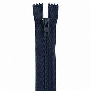 14'' Poly All Purpose Zipper Navy Blue - Discount Designer