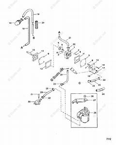 Mercury Mercury  U0026 Mariner Outboard Parts By Hp  U0026 Liter 40hp Oem Parts Diagram For Fuel Pump