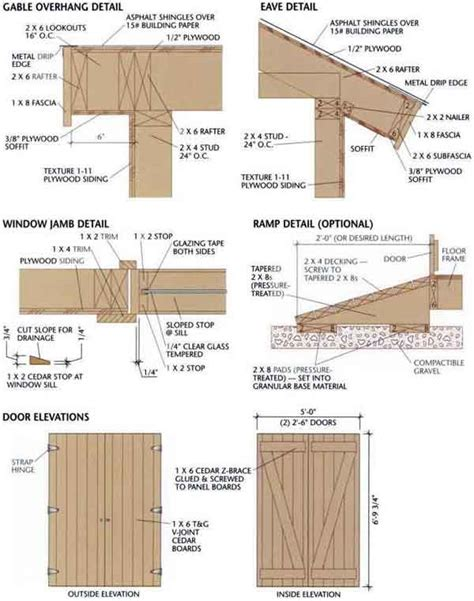 8 215 12 shed plans free plans for a storage shed are a must for this outside project my shed