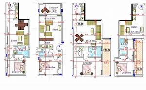 m2morocco new development high end apartments 14000 With maison de 100m2 plan 14 plan appartement 50m2