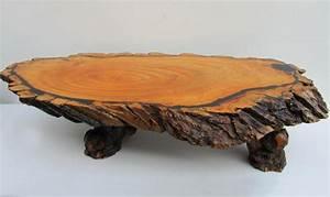 Achat Tronc Arbre Decoratif : large table basse tronc d 39 arbre 1960s en vente sur pamono ~ Zukunftsfamilie.com Idées de Décoration