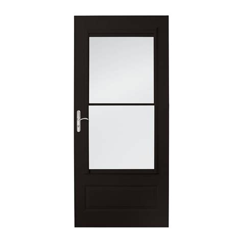 emco 400 series door emco 36 in x 80 in 400 series black self storing