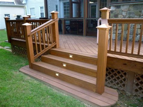 simple advices    building deck stairs home