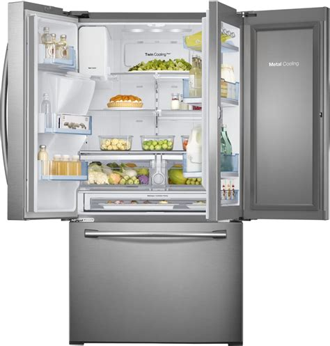 samsung rfhdedtsr   french door refrigerator