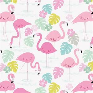 Flamingo Bay Wrapping Paper (5 Sheets) Rex London at