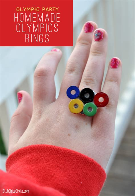 crafts for tweens olympic rings jewelry diy for Diy