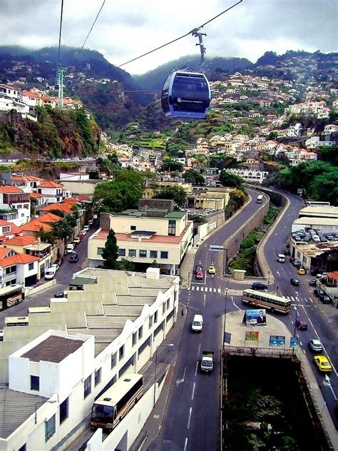 Cable Car to Monte, a photo from Madeira, Islands | TrekEarth