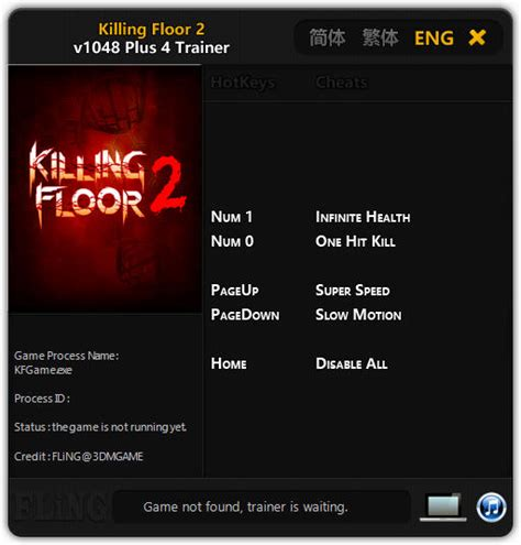 killing floor 2 trainer killing floor 2 trainer 4 v1048 fling download gtrainers