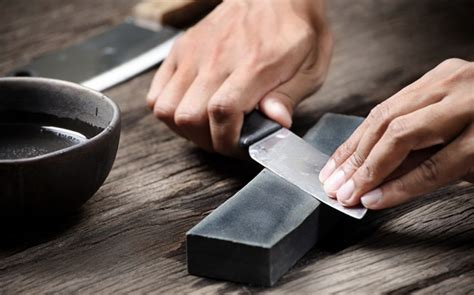 how to sharpen a kitchen knife how to keep your knives dangerously sharp the manual