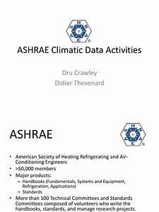 Ashrae Climatic Data Activities Pdf