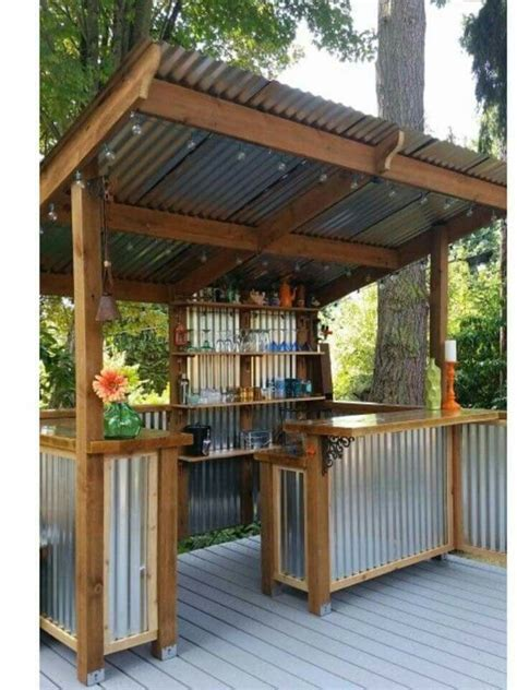 Backyard Bar Designs by Outdoor Bar This Wouldn T Be To Re Create