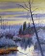Canadian Artist Svala Arnason Dunn - Acrylic art - Landscape
