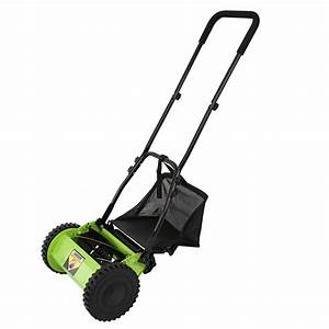 Hand Cylinder Mower Hand Push Manual Lawnmower Grass