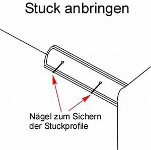 Stuck Anbringen Kosten : stuck anbringen anleitung kleben befestigen ~ Lizthompson.info Haus und Dekorationen