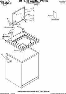 Whirlpool Wtw5505sq1 Users Manual