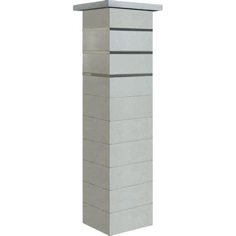 pilier complet en b 233 ton inea 39x39x172cm leroy merlin