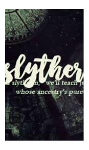 Slytherin House. - YouTube