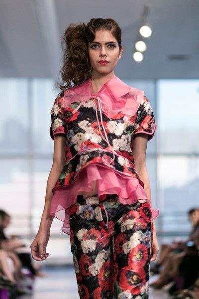 Yuna Yang at New York Fashion Week Spring 2015 Fashion