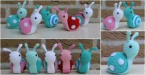 Diy Crochet Snail Step By Step Instructions