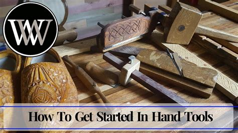 started  hand tool woodworking