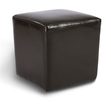 small faux leather ottoman modern faux leather ottoman footrest stool foot rest small