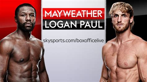 The fight between floyd mayweather jr., right. Logan Paul taunts Floyd Mayweather and vows to make June 6 'worst day' of his life   Boxing News ...