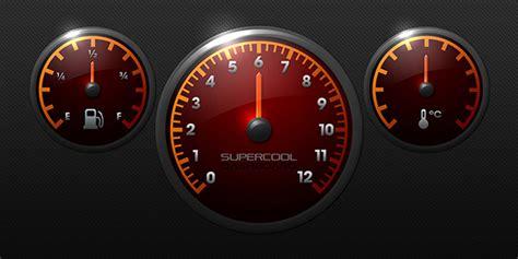 Race Car Dashboard Illustration