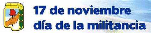 Capilla del Monte: 17 de Noviembre día del Militante Peronista