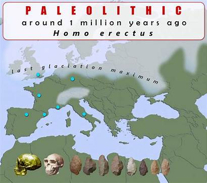 Europe Prehistoric Map Humans Modern Prehistory Early
