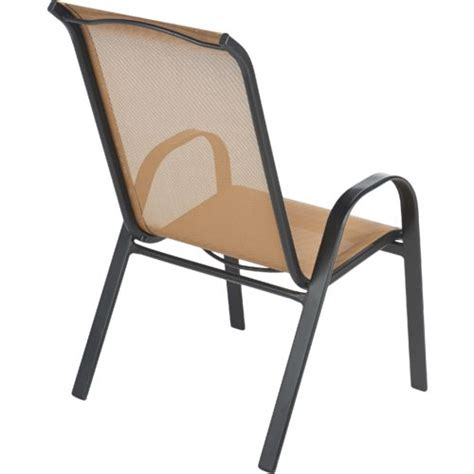 Oversized Sling Stacking Chair by Mosaic Oversize Sling Stacking Chair Academy