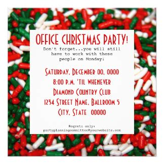 Work Christmas Party Cards, Work Christmas Party Card