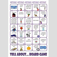Tell Aboutboard Game Worksheet  Free Esl Printable Worksheets Made By Teachers