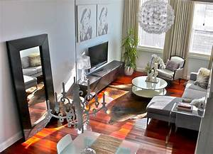 Marvelous large floor mirror decorating ideas gallery in for Floor lamp placement in living room