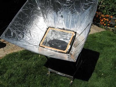 solar oven designs a solar oven on the obama plan