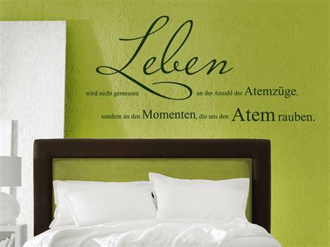 Wandtattoo über Bett  Schöne Wandtattoos über Betten Und