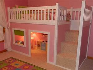 Cool Pink Bunk Beds Plans Stroovi